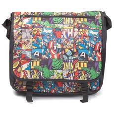 Marvel: All Over Comic Style (borsa Tracolla)