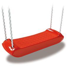 Sedia per Altalena in Plastica Colore Rosso