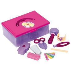 Valigetta Kit Primo Soccorso Con Accessori Glitterati Dottoressa Peluche