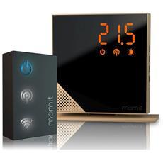 MOMIT - Termostato Wi-Fi Digitale con Gateway Home...