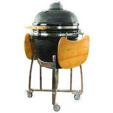 Barbecue Kamado In Ceramica, Griglia A Carbone Kamado