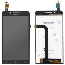 Lcd Display Touch Screen E Vetro Completo Nero Per Zenfone Go