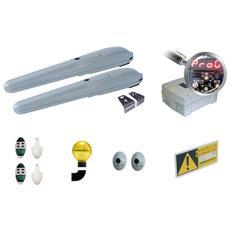 - Kit Cancello Automatico 24 Volts Per Ante Battenti 3m / 300kg