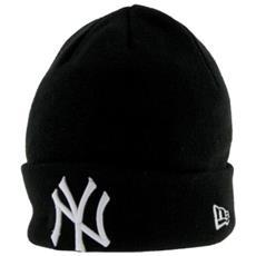 Cappello Seasonal Basic Cuff Nyy Unica Nero