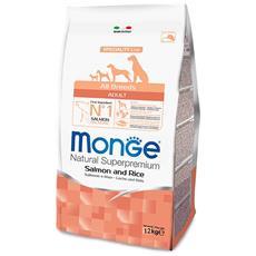 Crocchette Per Cani Adult Salmone E Riso 12 Kg