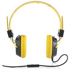 """MC-400 CIRCUIT, Stereofonico, 3.5 mm (1/8"""") , Padiglione auricolare, Nero, Giallo, Cablato, 20 - 20000 Hz"""