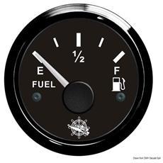 Indicatore carburante 240/33 Ohm nero / nera