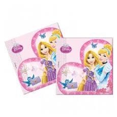 Principesse Disney - 20 Tovaglioli Di Carta