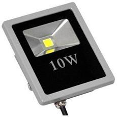 Faro Led 10 Watt Slim Da Esterno IP66