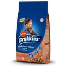 Affinity Gatto, Brekkies Brekkies Pollo Anatra E Verdura Kg. 1,5