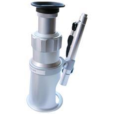 Microscopio Portatile 20x Con Illuminatore E Reticolo Di Misurazione
