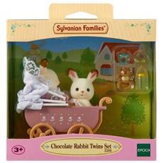 Conigli Di Cioccolato Doppio E Passeggino Doppio