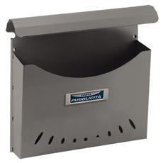 Portapubblicità in Alluminio 44.5x43x13.5 cm