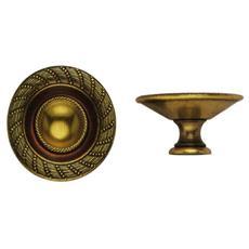 Pomolo per Mobili Oro Valenza 24407 Metal Style misura 30 mm