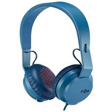 Cuffie con Microfono Cablato Colore Blu