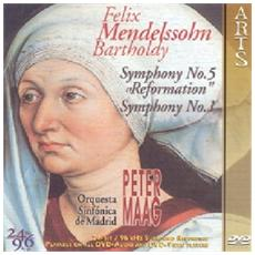 Mendelssohn - Symphony No 5 (Dvd Audio)