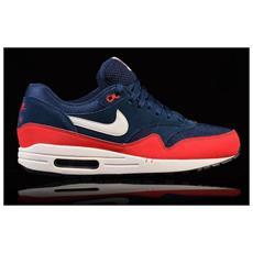 Scarpe Air Max 1 Essential Nike Uomo Taglia 42 - 26,5 Cm Blue E Rosso