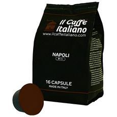 96 Capsule Compatibili Nescafe Dolce Gusto - 96 Capsule Compatibili Macchina Caffè Dolce Gusto Al Gusto Caffè Napoli - Macchina Caffè Nescafé Dolce Gusto Kit 96 Capsule Compatibili - Il Caffè Italiano
