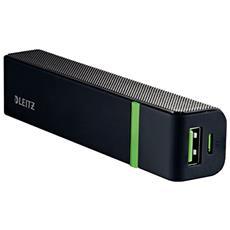 63110095 Ioni di Litio 2600mAh Nero batteria portatile