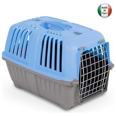 Trasportino per cani e gatti taglia piccola 48x32xH33 cm colori assortiti
