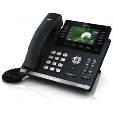 SIP-T46G Ultra Elegant Telefono VoIP
