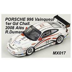 Mx017 Porsche 996 N. 14 Winner Challenge 2008 Ales R. dumas 1:43 Modellino