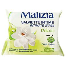 Salviette Intime Delicate X 20 Pezzi - Linea Intima