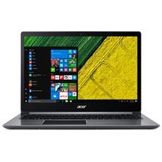 """Notebook Swift 3 Monitor 15.6"""" Full HD Intel Core i3-7100U Ram 8GB SSD 128GB 1xUSB 3.1 2xUSB 3.0 Windows 10 Home"""