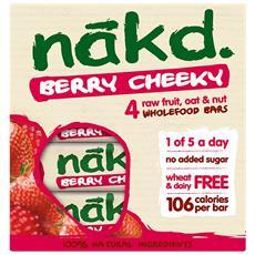 4 X Nakd Bar 30-35 G-cocoa - Orange