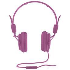 """MC-400 FRUITY, Stereofonico, 3.5 mm (1/8"""") , Padiglione auricolare, Rosa, Cablato, 20 - 20000 Hz"""