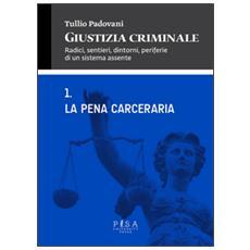 Giustizia criminale. Vol. 1: La pena cerceraria.