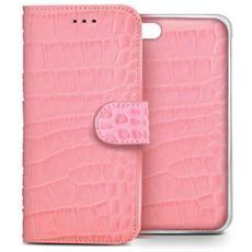 pink crocodile ambo for iphone 6 RICONDIZIONATO