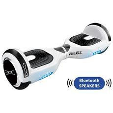 DOC+ Hoverboard Elettrico Bianco 6.5 con Speaker Bluetooth RICONDIZIONATO