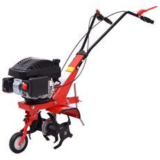 Coltivatrice Meccanica A Benzina 5 Hp 2,8 Kw Rossa