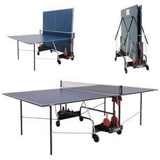 Tavolo Ping Pong Da Interno C-7168-00 Winner Indoor Blu