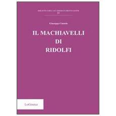Il Machiavelli di Ridolfi