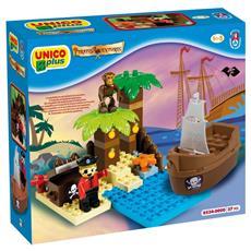 Unico Plus Pirati Isola del Tesoro 37pz 8534