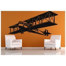 Adesivo murale Aeroplano Dimensioni 115 X 57 cm