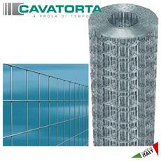 Rete elettrosaldata zincata mm 50x75 h cm 150