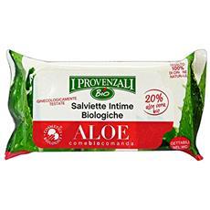 Salviette Intime Aloe Bio X 12 Pezzi Igiene Intima