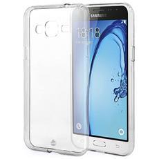 Case Cover Custodia Trasparente Ultra Fina Morbida Sottile Per Samsung Galaxy J3 - J320 (2016) + Pellicola