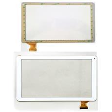 Ricambio Touch Screen Vetro Vetrino Con Flex Cable Bianco Per Archos 101b Xenon + Kit Attrezzi Smontaggio