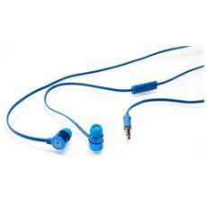 """49111, Stereofonico, Blu, Interno orecchio, Cablato, 3.5 mm (1/8"""") , 1,2m"""