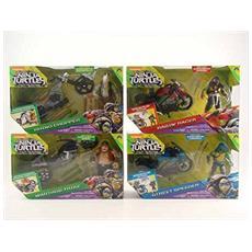 Teenage Mutant Ninja Turtles - Movie 2 - Veicolo Con Personaggio (Assortimento)