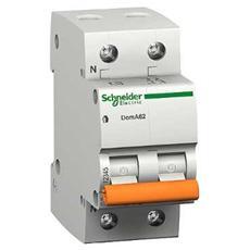 Doma42c10 – Interruttore Magnetotermico Doma42 2p C 10a