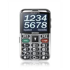 """Amico Chic Senior Phone Dual Sim Display 2,4"""" + Slot MicroSD Fotocamera Tasti Grandi e SOS Colore Nero - Italia RICONDIZIONATO"""