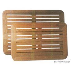 Piani tavolo in teak 55x80 cm