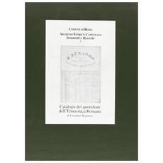Catalogo dei quotidiani dell'Emeroteca romana