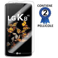 Pellicola Proteggi Display Per Lg K8 4g - K350n Confezione 2 Pezzi