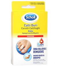 Dr. scholl Calli Duri Cerotti Callifughi 4pz